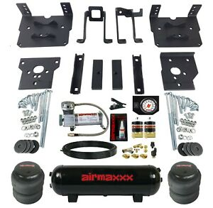 Air Bag Tow Kit White Controls Compressor Tank For 2011 16 Ford F250 F350 4x4