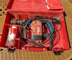 Hilti Te 25 Drill Great Condition Drill Bits And Case Fast Ship