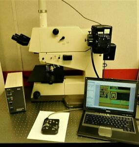 Nikon Optiphot 200 Chf 200 Dic Bf Df Nipkow Disk Confocal Microscope
