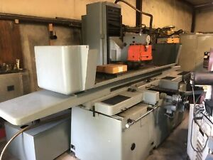 Blohm Hsf 512 22 X 48 Automatic Surface Grinder W Auto Incremental Downfeed
