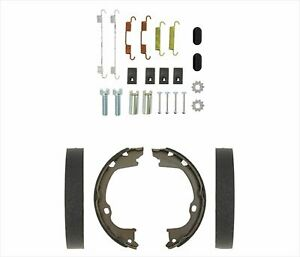 Rear Emergency Parking Brake Shoes Spring Kit Fits For 11 19 Jeep Grand Cherokee