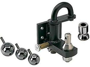 Convert A Ball Pintle Cushioned Pintle Hook Combo W 3 Nickel Plated Balls Ph 2