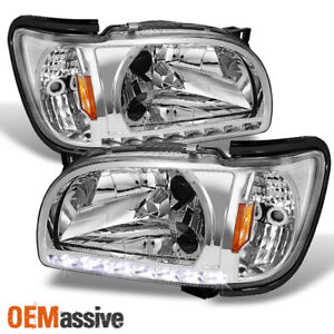 Fits 2001 2004 Toyota Tacoma Replacement Led 1pc Headlights Corner Lamps Lh rh