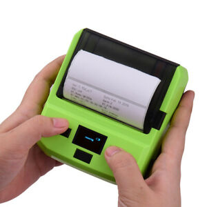 Wireless 80mm Portable Bt Thermal Barcode Printer Pos For Android Wins Ios R0p8