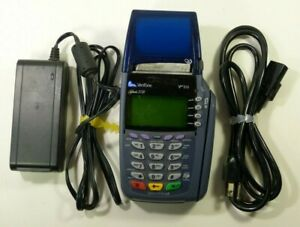 Verifone Omni 3730 Credit Card Machine With 6 Rolls Of Paper