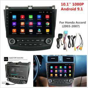 10 1 Android 9 1 Quad core Car Stereo Radio Gps Nav For Honda Accord 2003 2007