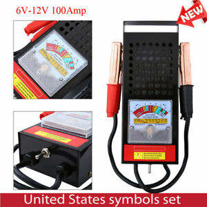 Car Van Auto Battery Tester Load Drop Charging System Analyzer Checker Tool