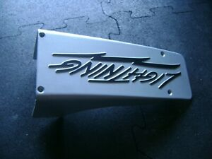 Ford Lightning Gt40 351w 5 8 Oem Intake Plaque Plate Cover Rare Mustang 5 0 Man