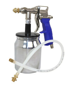Bed Liner Spray Gun With Bonus Flexible 22 Undercoating Spray Wand