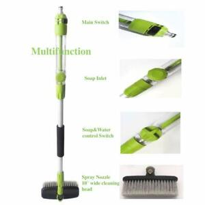 Lovho Cleaning Tools Telescoping Car Wash Brush Extend Handle For Added Reach
