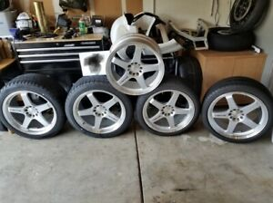 Set Of Rays Engineering Nissan Nismo Lmgt4 19x8 5 19x9 5 Wheels Rims W Spare