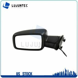 Left Side Mirror Turn Signal Black Power Heated Fits For 2009 2015 Dodge Ram