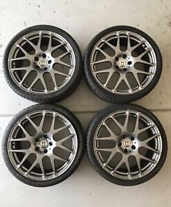 19 Hre P40s Forged Monoblock Wheels With Tires For Mercedes Amg