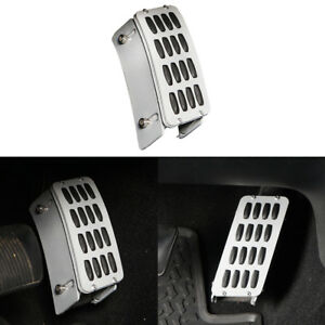 Gas Pedal Cover Aluminum Alloy Heightening Pedal For 2007 2018 Jeep Wrangler Jk
