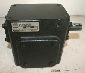 Worldwide Electric Corp Speed Reducer Hdrs206 30 1 r Cat 90404547 2 Shaft