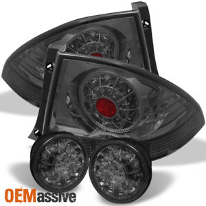 Fits Smoked 01 05 Lexus Is300 Altezza Jdm Led Tail Lights W Led Trunk Piece Set