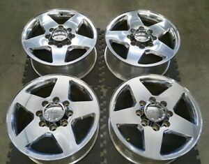 Chevy Gmc 20 Inch Oem Factory Wheels Rims 8 Lug Hd 2500 3500 Silverado Truck