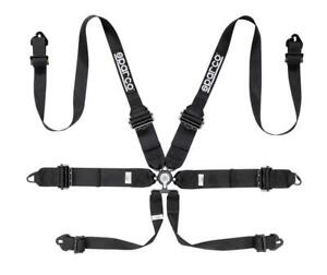 Sparco 6 Point Racing Harness 3 To 2 Hans