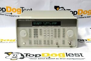 Hp Agilent Keysight 8648b Synthesized Rf Signal Generator 100khz 2000m