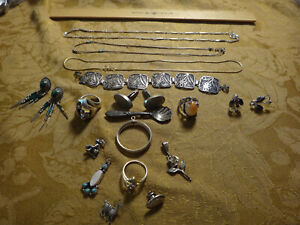 Antique Store Sell Off 100 Gram Sterling Silver Jewelry Lots Not Scrap 15