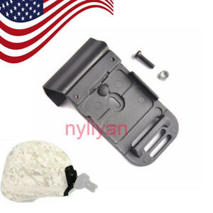 US Metal MICH Mount Adapter For ACH Helmet NVG PVS-7 14 Goggle Flashlight Stand
