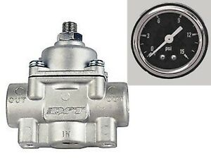 Low Fuel Pressure Regulator Holley Quick Fuel Carburetor Carb 1 4 Psi 30 804 Sbg