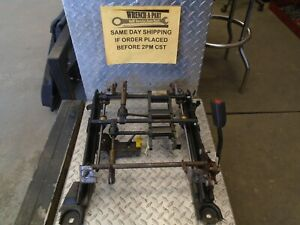 2005 Ford Mustang 6 Way Driver Power Seat Track W O Switch 7935710 Wc
