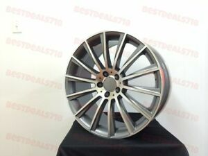 20 Staggered Mercedes Benz S Class Amg Style Rims Wheels Fits E63 S550 S430