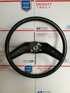 1986 Ford Truck Leather Wrapped Steering Wheel F150 F250 F350