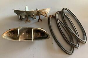 60 69 Vw Karmann Ghia Tail Lights Volkswagen Vintage Old Classic Hella