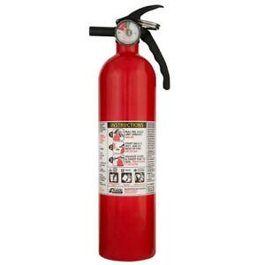 Kidde Recreational Fire Extinguisher Disposable Emergency Safety Home 1 a 10 b c