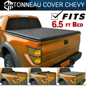 Lock Roll Up Tonneau Cover Fit 1999 2006 Chevy Silverado 1500 2500 Hd 6 5ft Bed