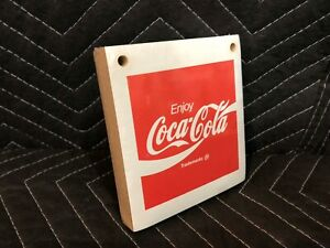 Vintage 1989 Coca Cola Sign Fishtail Calendar Pad NEW OLD STOCK Coke
