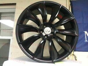 Four Brand New 20 Black Fx35 Limited Edition Style Rims Wheels Fit Fx35 Fx45