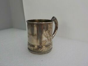 Fancy Gorham Silver Soldered Horse Racing Trophy Cup Dated 1889