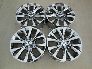 20 Fits Ford F150 Chrome Wheels Rims King Ranch Truck Pvd 20x8 5 Set 4 10003