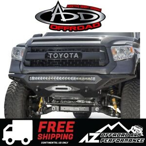 Add Stealth Fighter Winch Front Bumper W Sensor For 2014 2019 Toyota Tundra