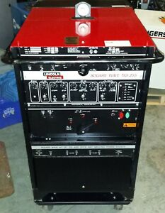 Lincoln Square Wave Tig 355 Water Cooled Tig Welder Acdc Singlephase 208 230 460
