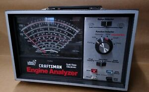 Sears Craftsman Engine Analyzer 161 210400 With Box Cords Owner S Manual