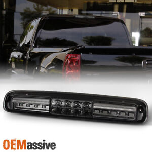 Fit 99 06 Chevy Silverado Gmc Sierra 1500 2500 3500 Hd Led 3rd Brake Light Smoke