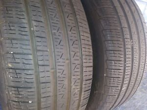 2 Pirelli Cinturato P7 A s Rft 225 50 17 Bmw With 7 32nd Tread Left 94 V