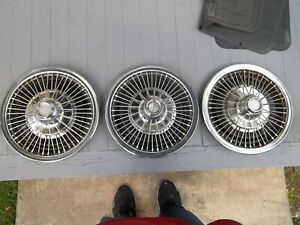1960 S Amc Rambler Wire Wheel Covers 14 Inch
