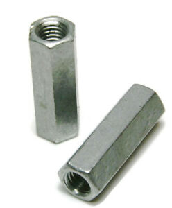 Coupling Nuts Hot Dip Galvanized Rod Coupling Hex Nuts 1 4 20 Through 1 2 13