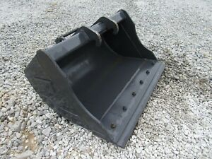 Bobcat Mini Excavator Attachment 36 Hd Ditching Smooth Bucket Ship 199
