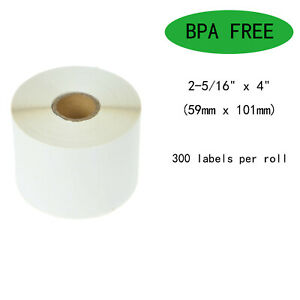 Shipping Labels 30256 For Dymo Labelwriters Xl Xl 2 5 16 X 4 59mm X 101mm