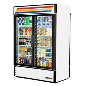 True Gdm 49rl hc ld 54 Rear Load Glass Door Merchandiser Refrigerator