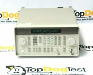 Hp Agilent Keysight 8648c Synthesized Rf Signal Generator 9khz 3 2ghz
