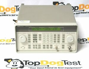 Hp Agilent Keysight 8648a 1e5 Synthesized Rf Signal Generator 100 Khz 1000 Mhz