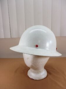 Vintage Welshgard Fiberglass Full Brim Construction Hard Hat Helmet Model Db50