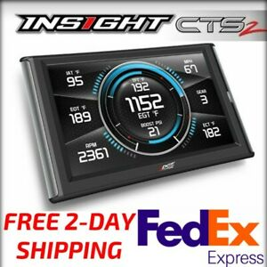 Edge Insight Cts2 Performance Monitor For Chevy Gmc 6 6l Duramax Diesel 2 day Sh